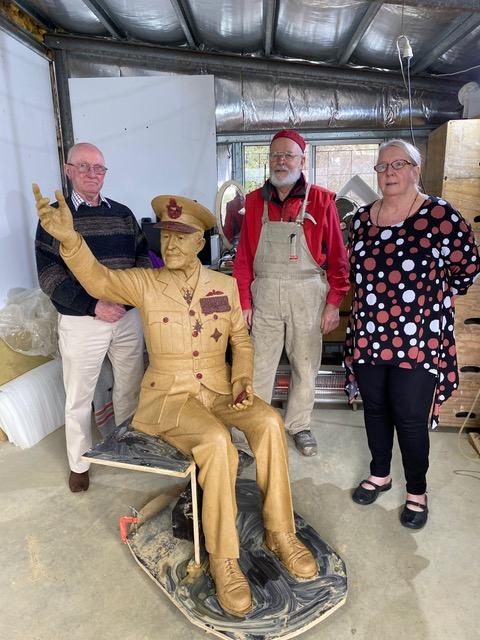 Sir Richard Williams sculpture