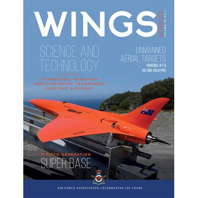 WINGS is the offical publication of the Air Force Association