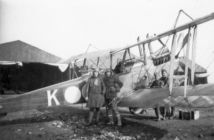 RE8 on the Western Front with 3 Squadron